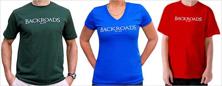 Backroads T-shirt 2013